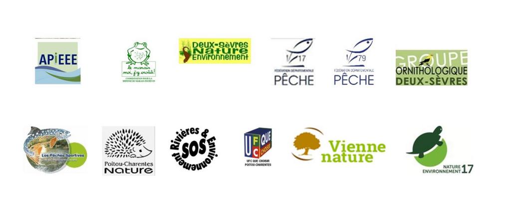 Logos des associations concernées